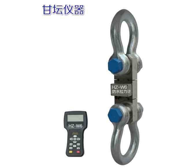 卸扣式的无线拉力表,实验水袋用5T测力仪