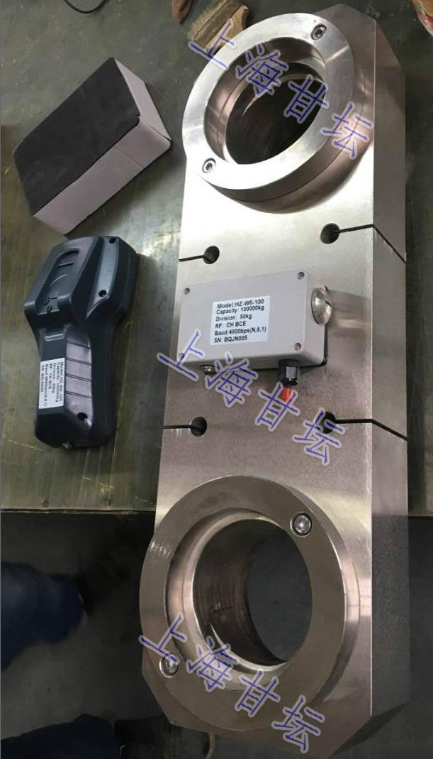 电子式数显拉力表HZ-W6-100 测力100t新品外观