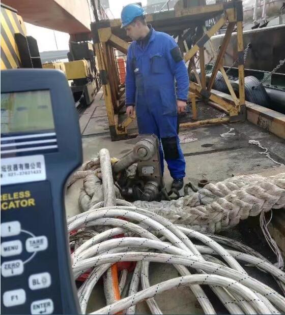 50吨指针拉力计.船厂60T70T80T无线测力仪(专业)