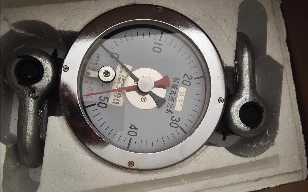 机械式推拉力计 表错位的调整方法