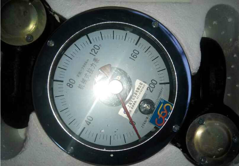 160-200KN机械式拉力表-汽车牵引力测量仪器